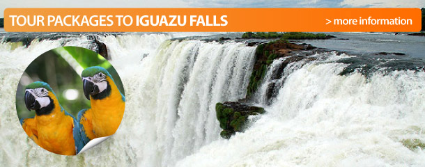 Book a tour to Iguazu!