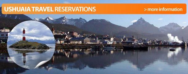 Travel reservations in Ushuaia