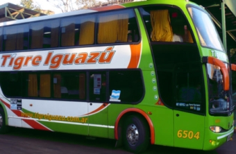 Travel to the Iguazu Falls by bus