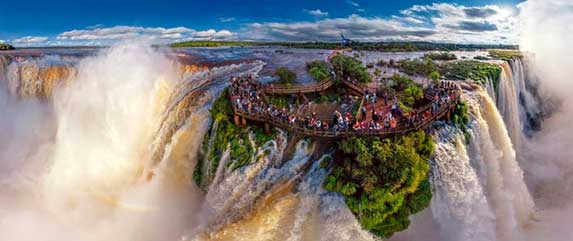 Package to the Iguazu Falls