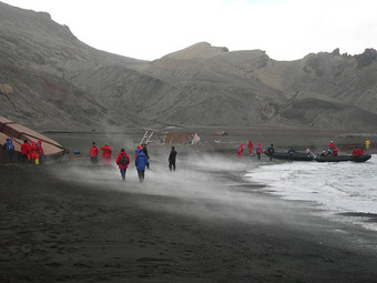 Vacations in Antarctica