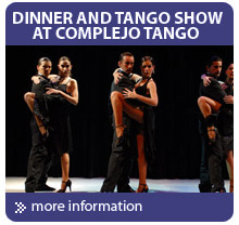 Tango shows in Argentina