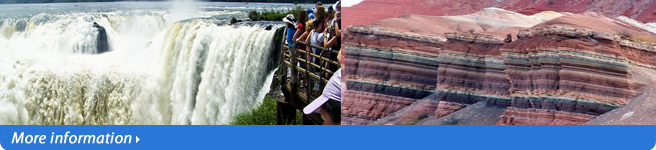 Iguazu falls and salta tour!