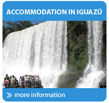 Travel to the Iguazu falls