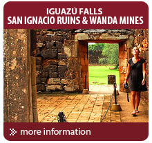 Tour to the Jesuit Ruins of Iguazu Falls