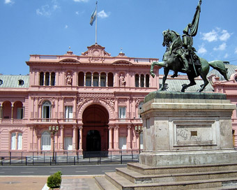 holidays in buenos aires and visit pink house