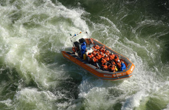 Enjoy a boat excursion through the impressive Iguazu Falls!