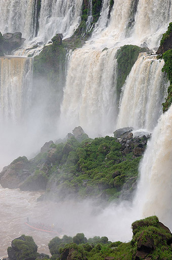 The Amazing Views at Iguazu Falls