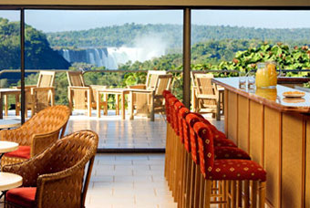 The Brazilian Iguazu falls National Park