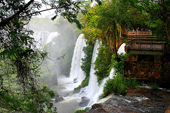 Excursion tours at Iguazu Falls, Argentina