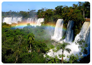 Book your ecological tour to the impressive Iguazu Falls!