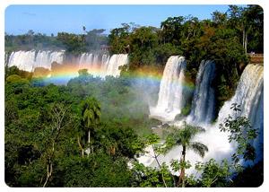 Book your ecological tour to the impressive Iguazu Falls!