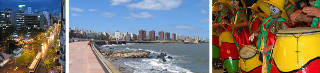 package in montevideo and colonia uruguay