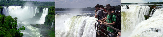 travel in iguazu falls