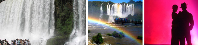 one of the seven wonderfulls in the word iguazu falls