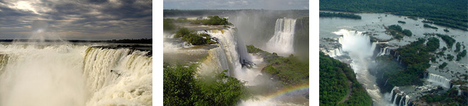 traveler commets about iguazu falls